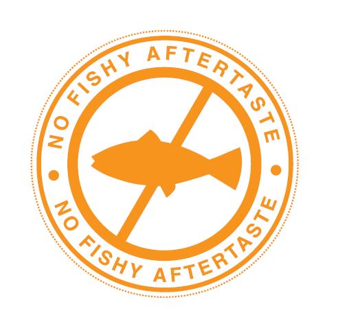 omega-3 no fishy aftertaste